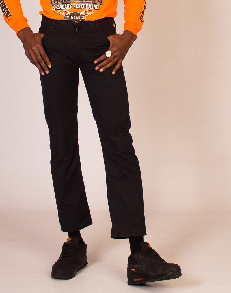 DICKIES BLACK SLIM FIT JEANS