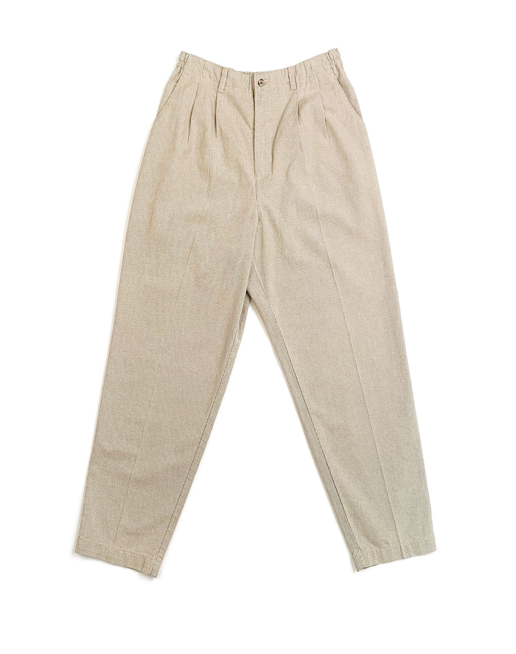 LEE MICRO CHECK TROUSERS