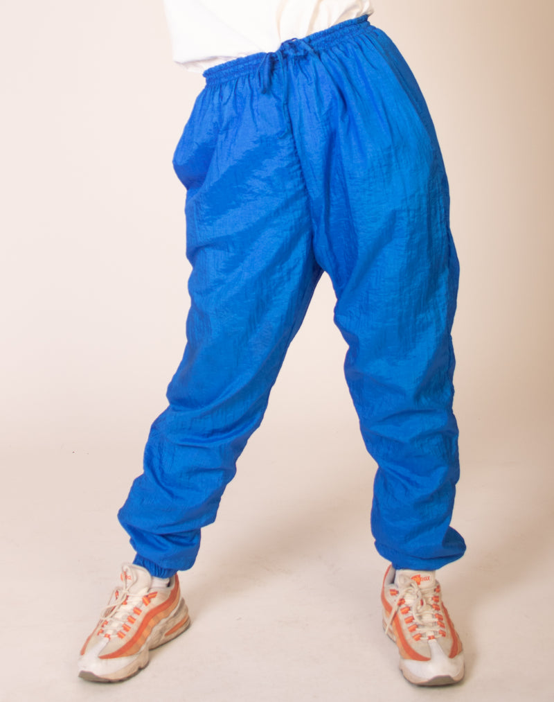 BLUE JOGGER BOTTOMS