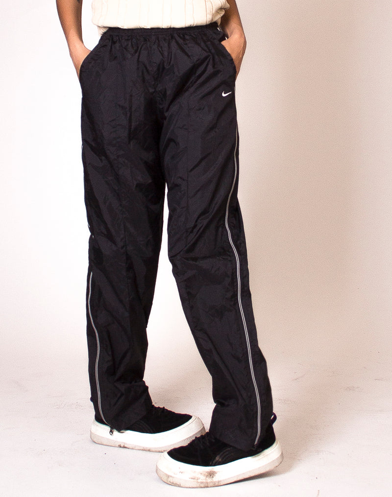 NIKE BLACK ZIPPER JOGGERS