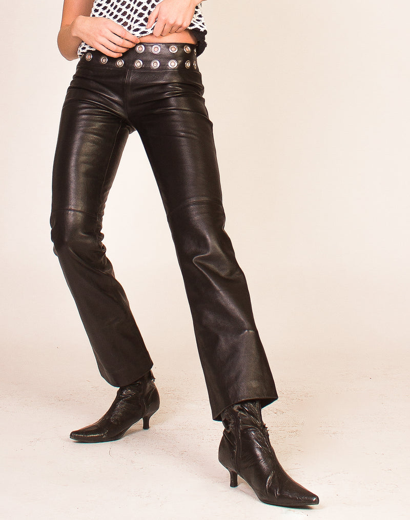 LEE BLACK STRAIGHT LEG JEANS