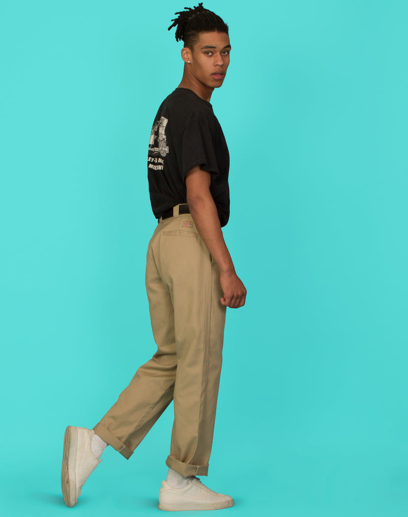 DICKIES CREAM TROUSERS