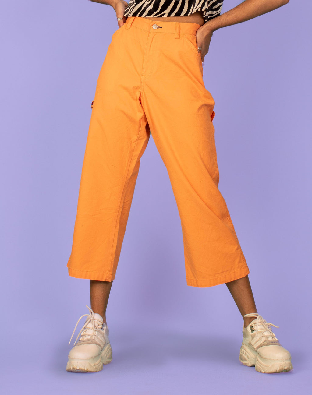 TOMMY HILFIGER ORANGE PANTS