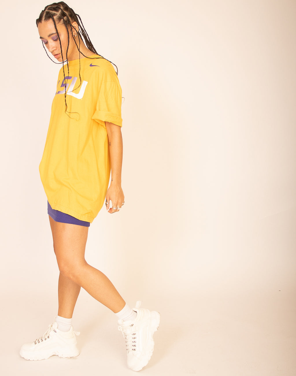 NIKE YELLOW T-SHIRT