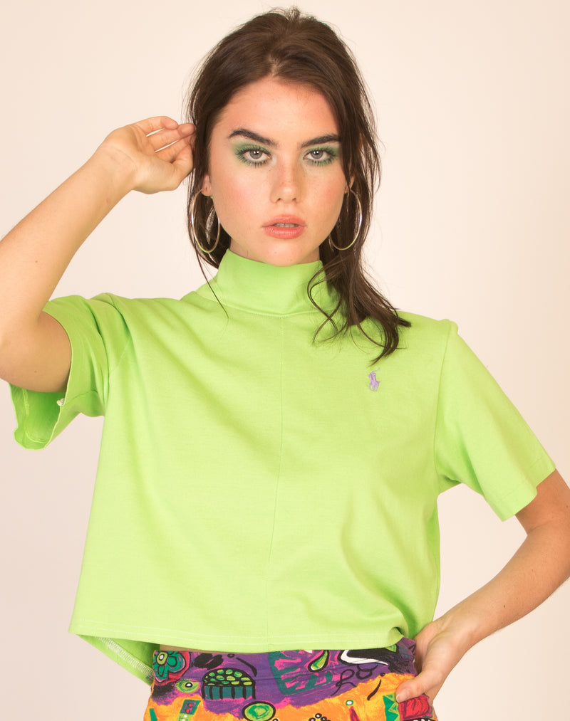 RALPH LIME CINDY T-SHIRT
