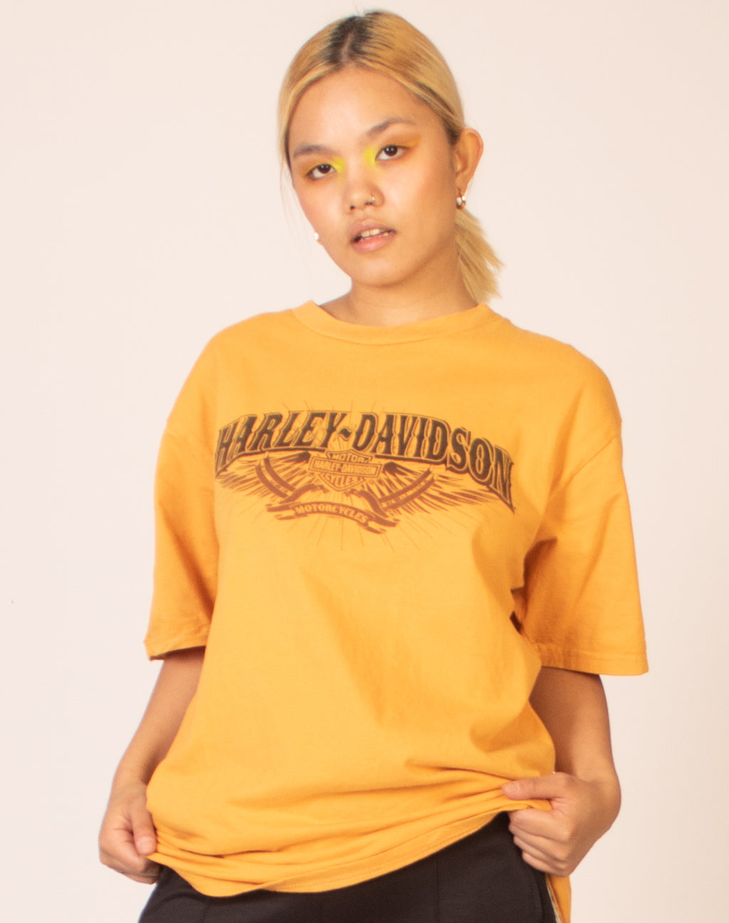 HARLEY DAVIDSON ORANGE T-SHIRT