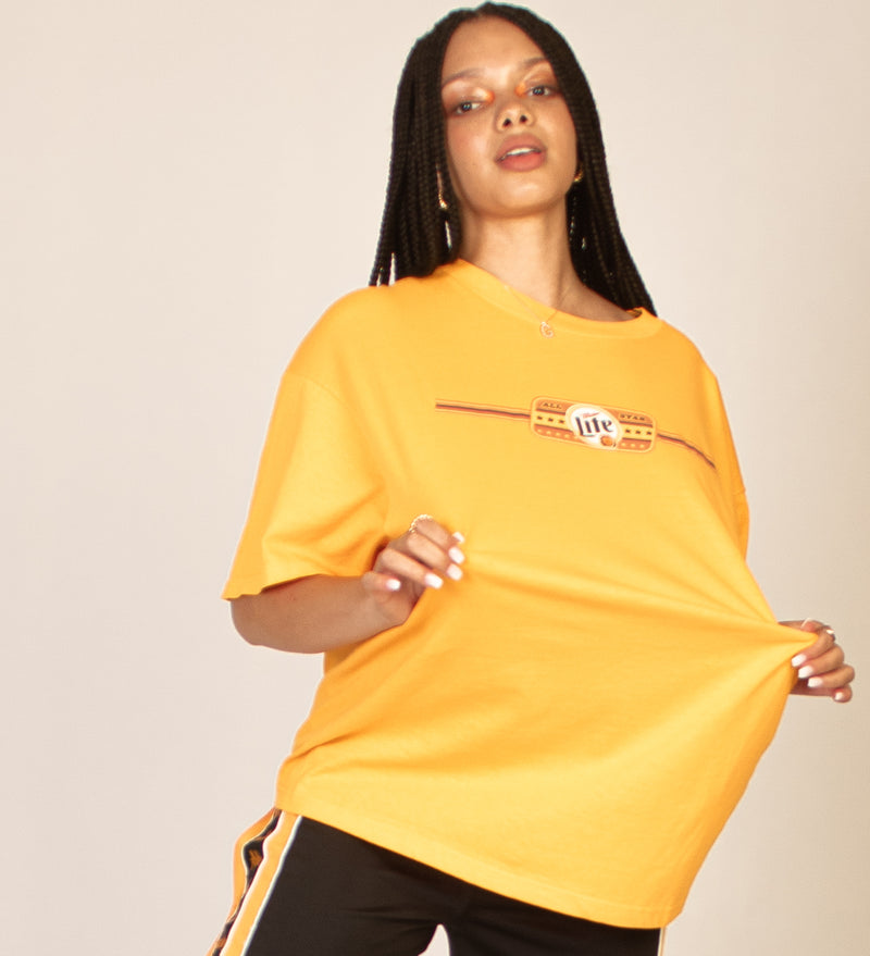 YELLOW ALL STAR TEE