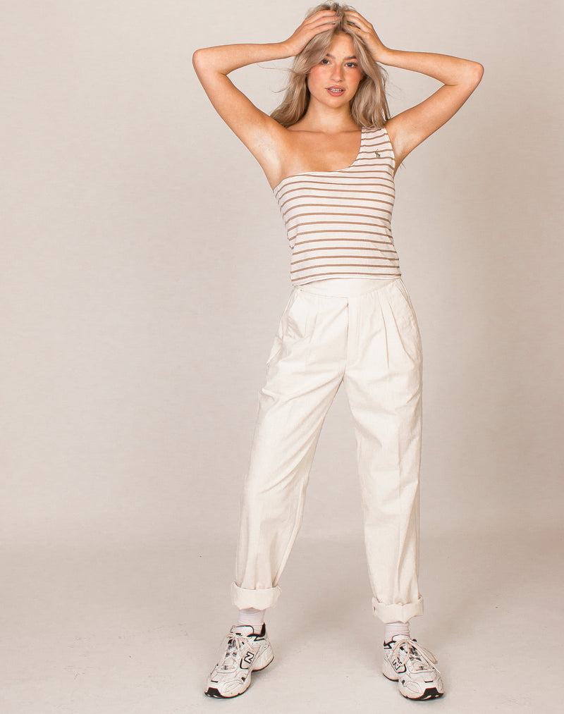 RALPH LAUREN STRIPE AVA TOP