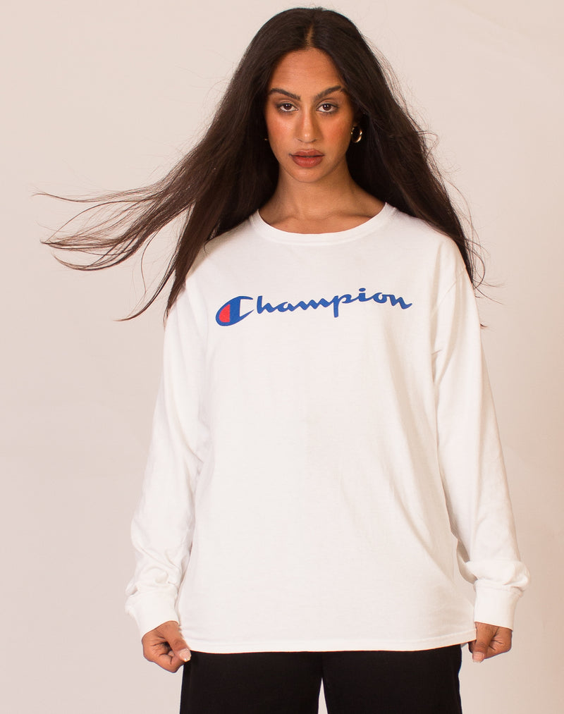 CHAMPION NAVY BLUE JUMPER