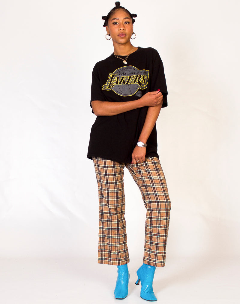 BLACK LOS ANGELES LAKERS T-SHIRT