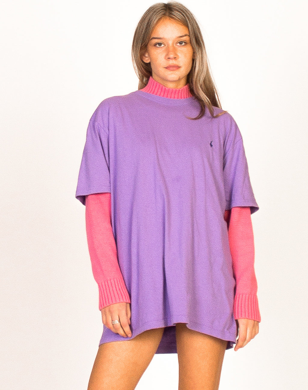 RALPH LAUREN PURPLE TEE