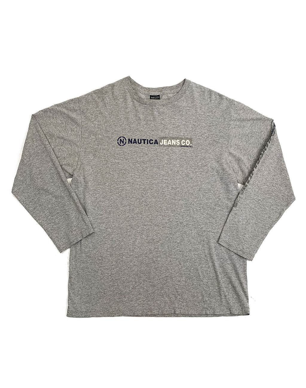 NAUTICA GREY LONG SLEEVE TEE