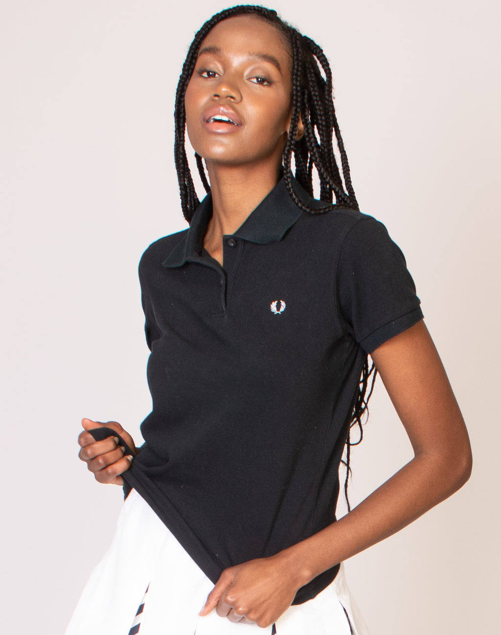 FRED PERRY BLACK POLO