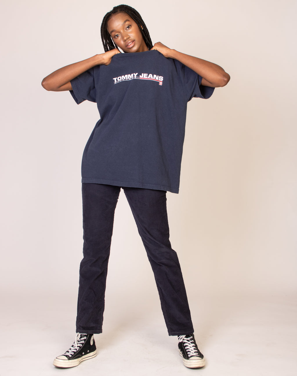 TOMMY HILFIGER NAVY BLUE TEE