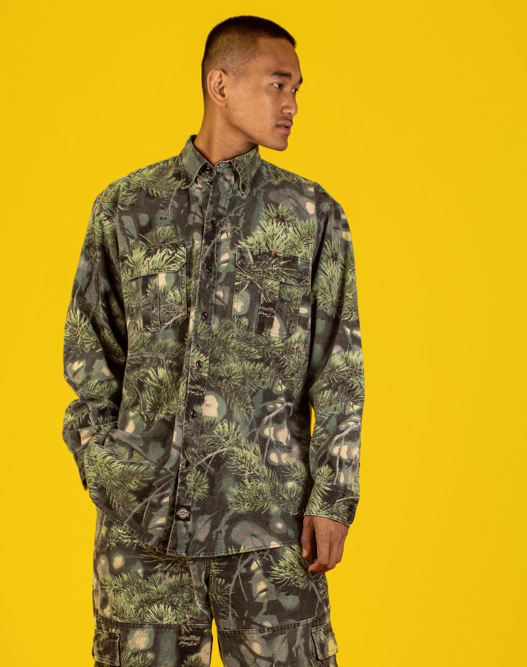 DICKIES CAMO WEST TWIN SET