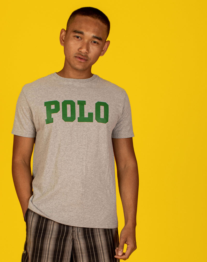 RALPH LAUREN POLO GREY T-SHIRT