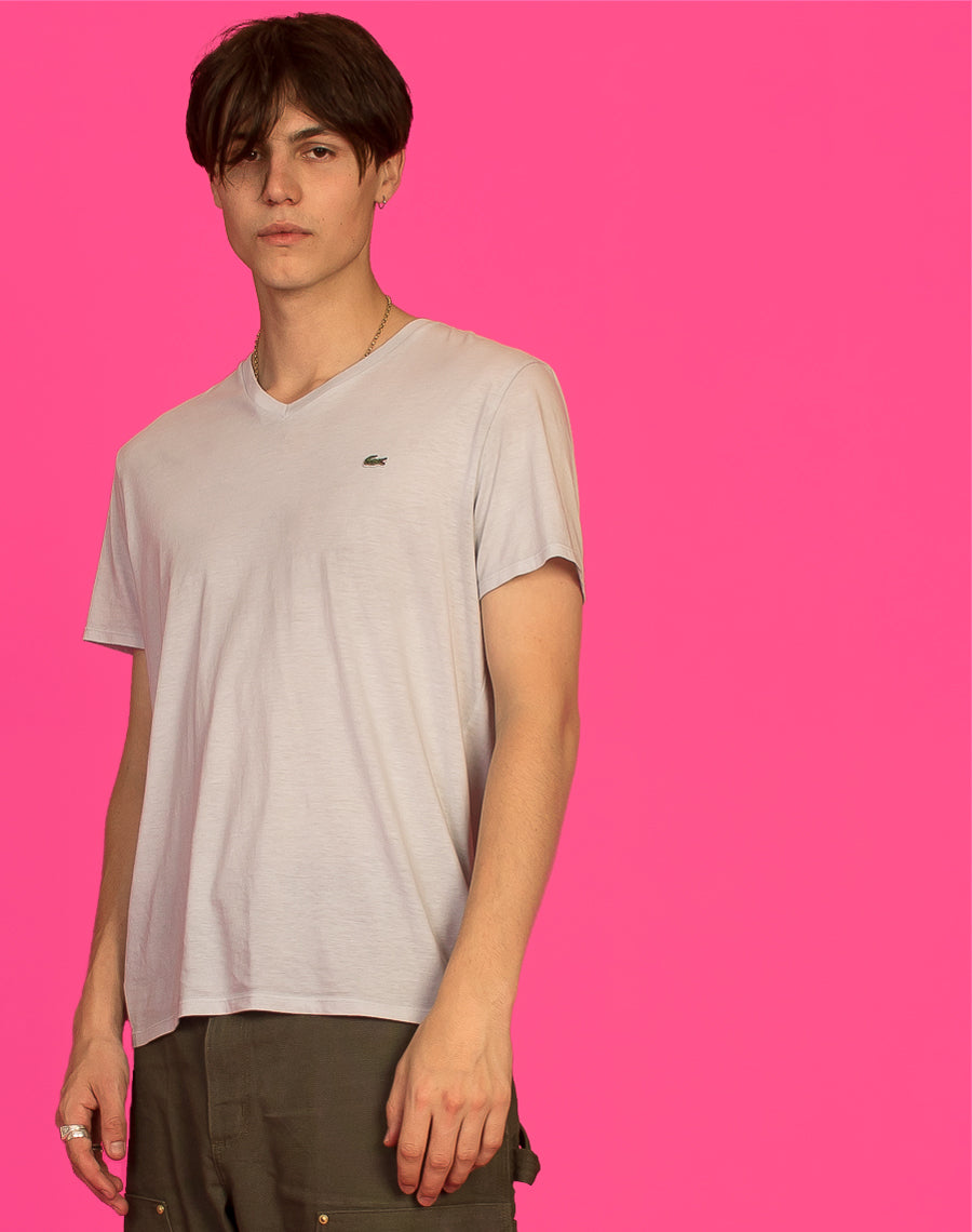 LACOSTE GREY T-SHIRT
