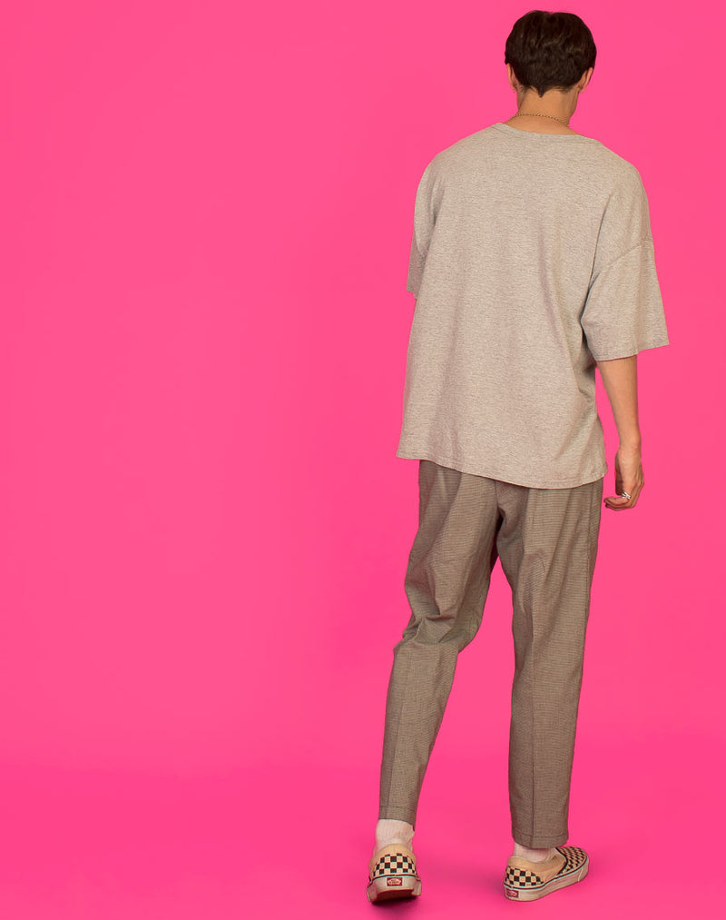 CHAMPION GREY OVERSIZED TEE