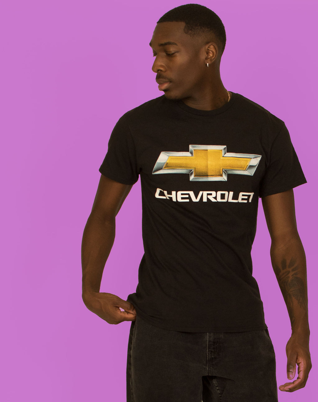CHEVROLET BLACK T-SHIRT
