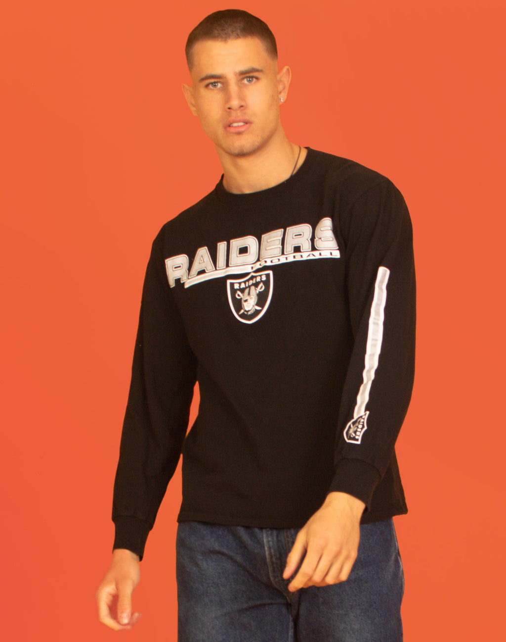RAIDERS BLACK T-SHIRT