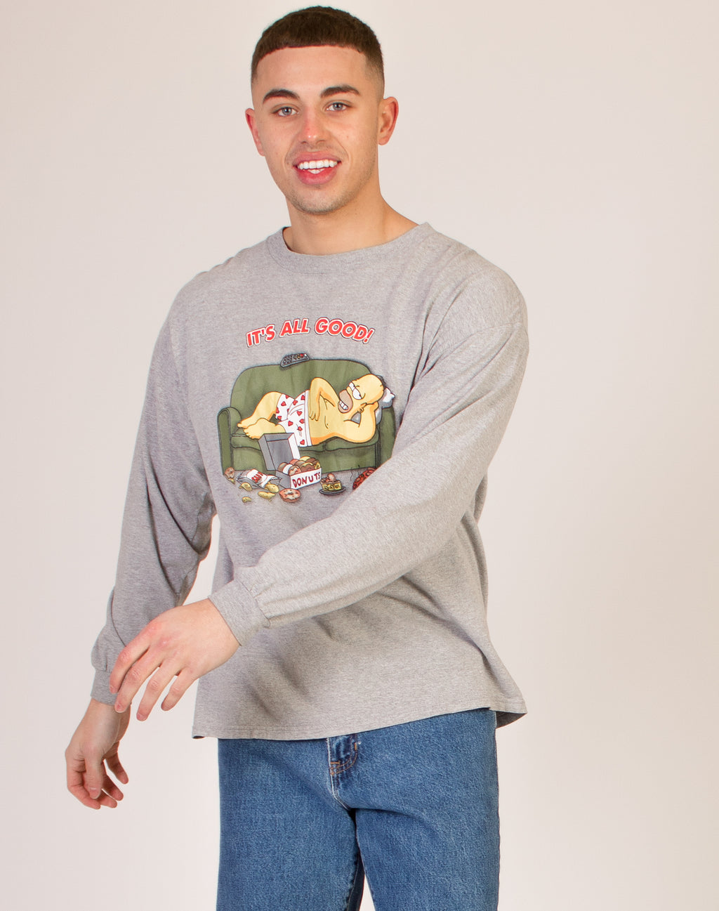 HOMER SIMPSON LONG SLEEVE TOP
