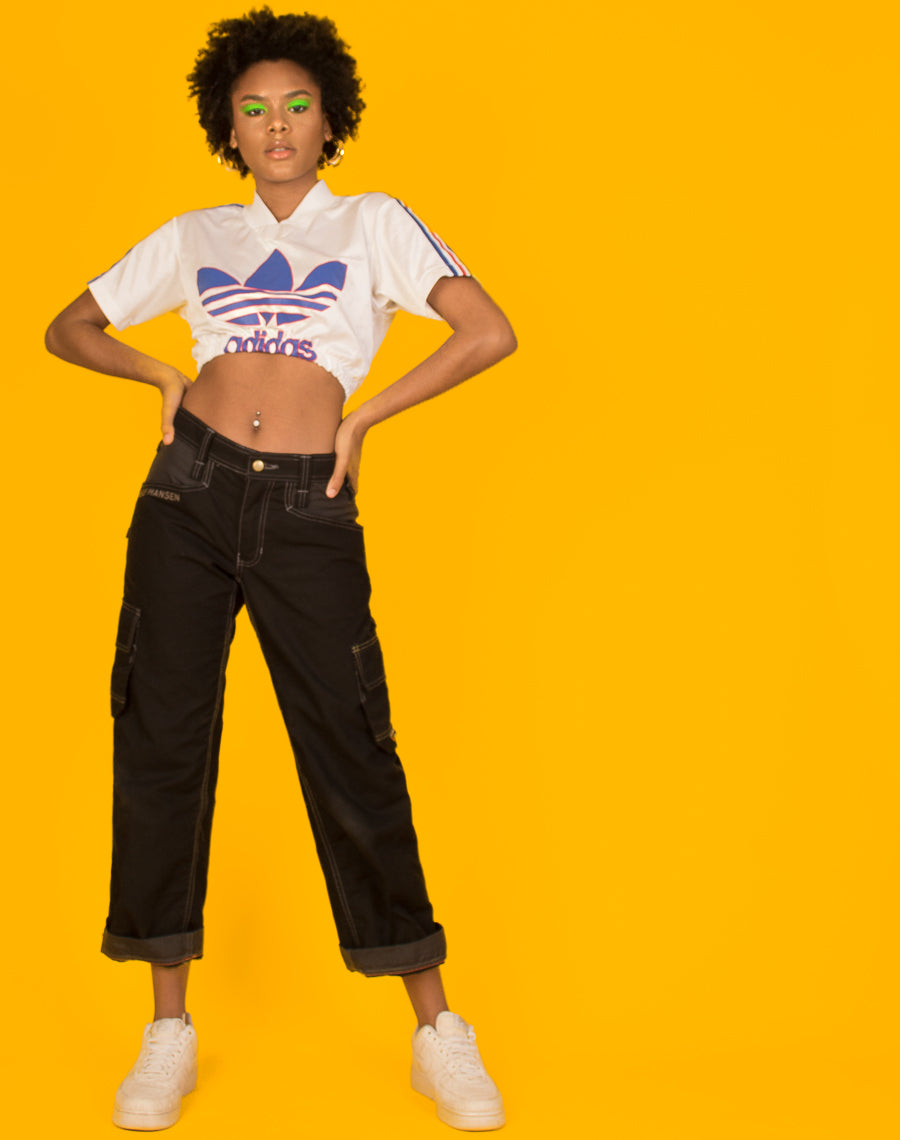 d8a3a0b531009 ADIDAS WHITE SPORTS CROP TOP – We Are Cow