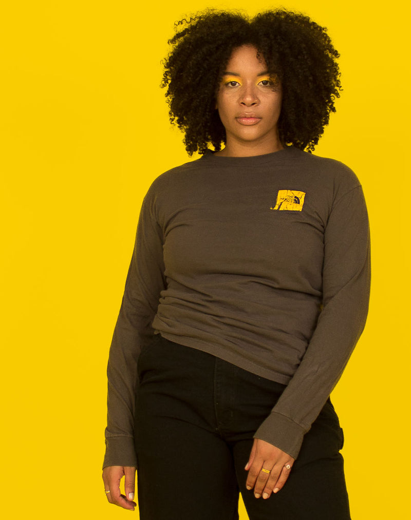 NORTH FACE LONG SLEEVE TEE