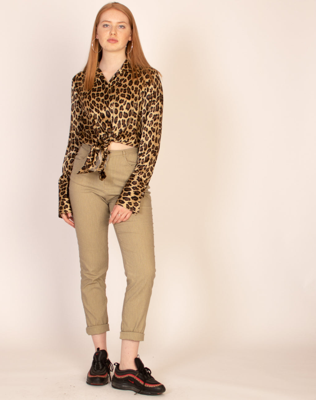 LEOPARD SILK SHIRT