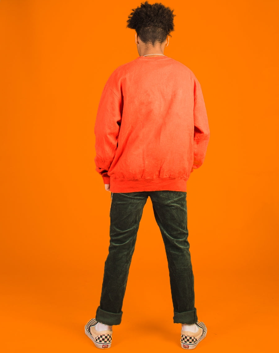 THE NORTH FACE ORANGE FLEECE