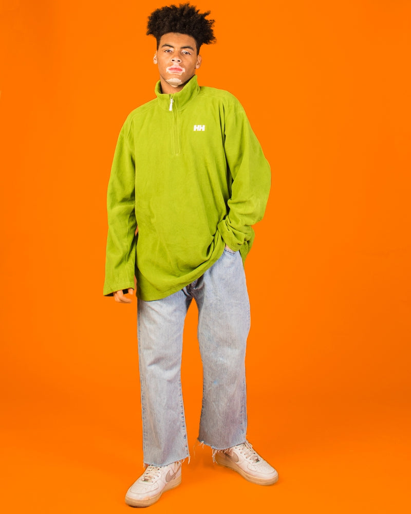 HELLY HANSEN GREEN FLEECE