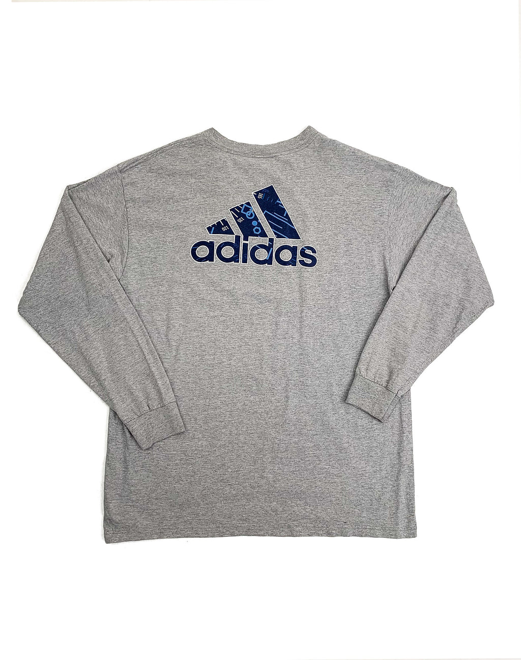 ADIDAS LONG SLEEVE LOGO T-SHIRT