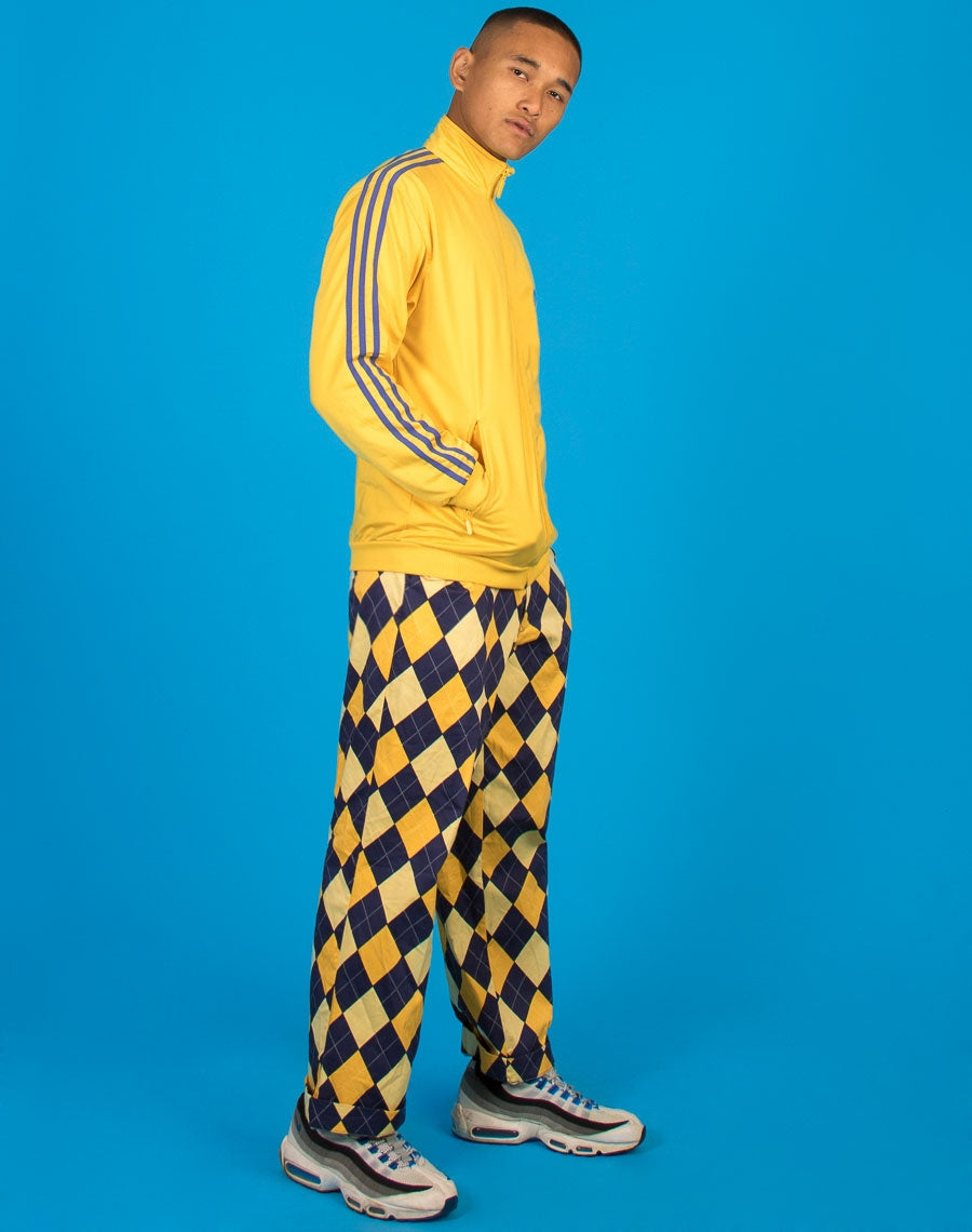 ADIDAS YELLOW TRACK JACKET