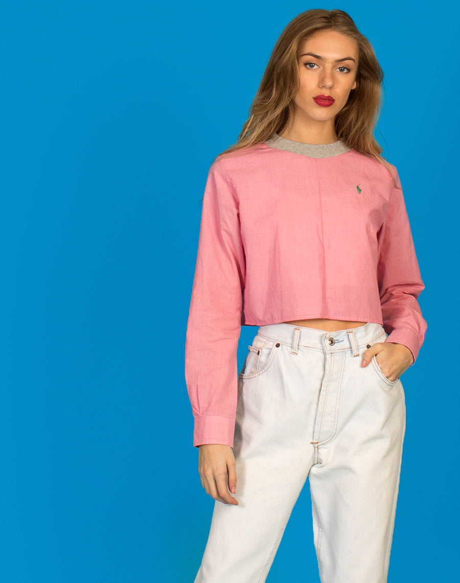 RALPH LONG SLEEVED LUCY TEE