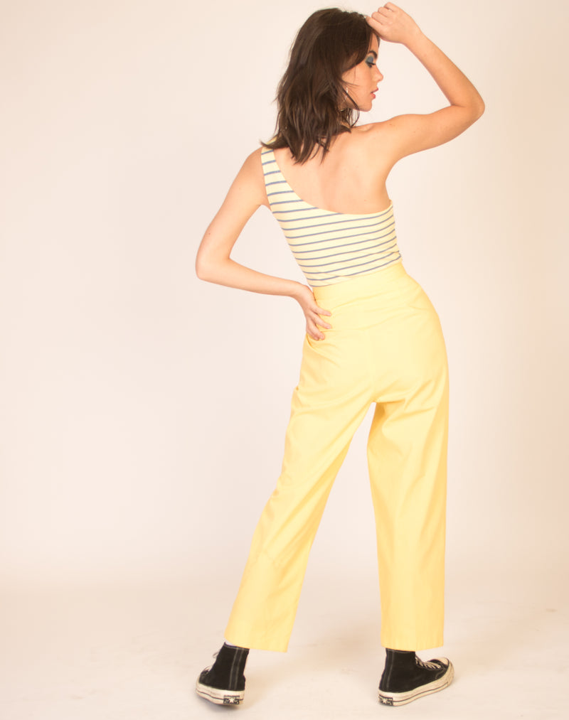 BANANA CASUAL STRAIGHT LEG TROUSERS