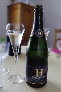 Champagne Monsieur H champagne Mariage GM HERARD