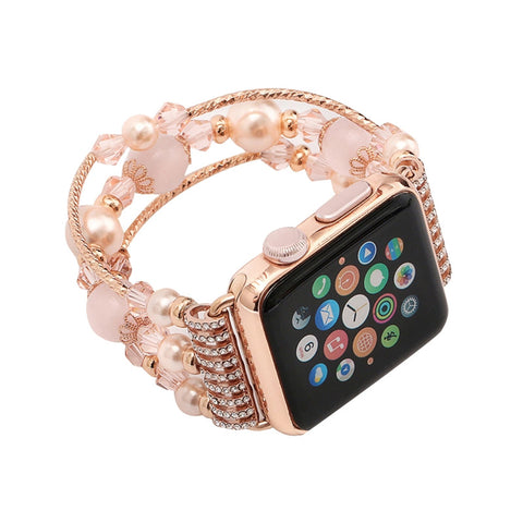 Agate Natural Stone Bracelet Replacement for Apple Watch