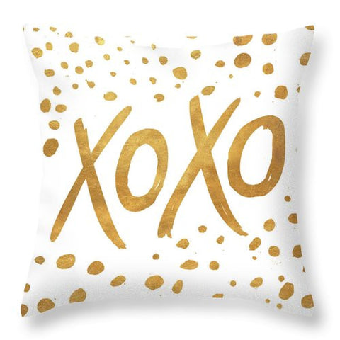 Unique Xoxo Throw Pillow