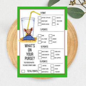 FREE PRINTABLES If you Give a Mouse a Cookie Baby Shower Games Package
