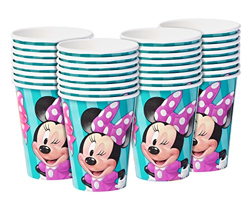 American Greetings Mickey Mouse 9oz Paper Cups, 32-Count - partylovin