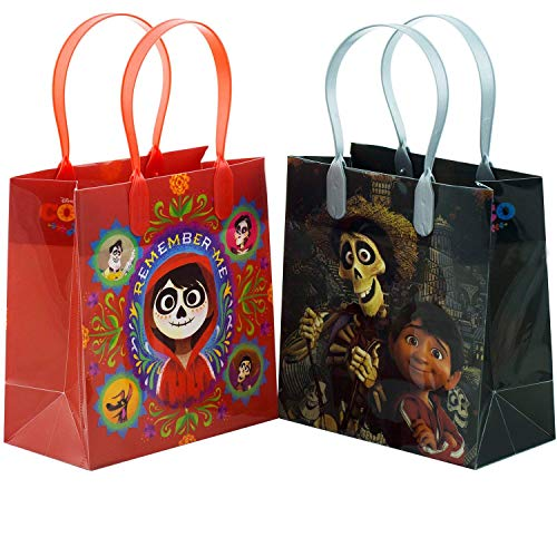 Disney/Pixar Coco Premium Quality Party Favor Reusable Goodie/Gift/Bags 12 Pieces - partylovin