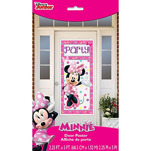 Plastic Minnie Mouse Door Poster, 60