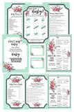 BABY SHOWER BUNDLE Floral Romance Baby Shower Package It's a Boy or Girl - partylovin