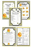 BABY SHOWER BUNDLE Bumble Bee Baby Shower Package It's a Girl - partylovin
