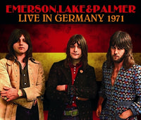 NEW E.L.&P. / Emerson, Lake & Palmer  - Live in Germany 1971 3CDR Free Shipping