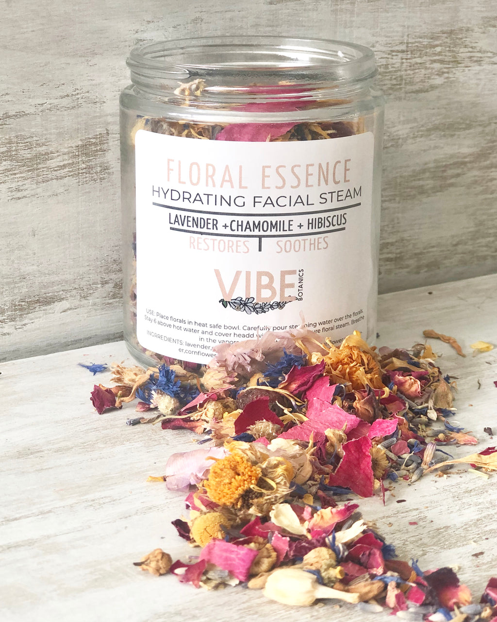 FLORAL ESSENCE Facial Steam