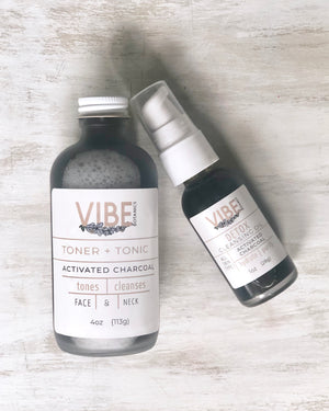 DETOX + Activated Charcoal Duo