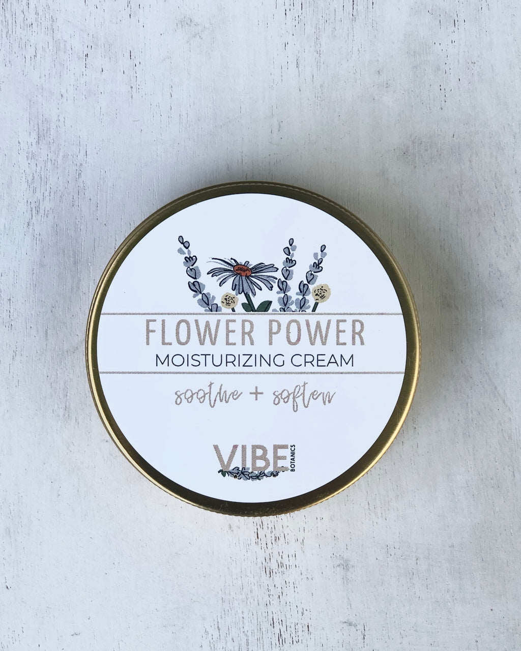 FLOWER POWER Moisturizing  Cream