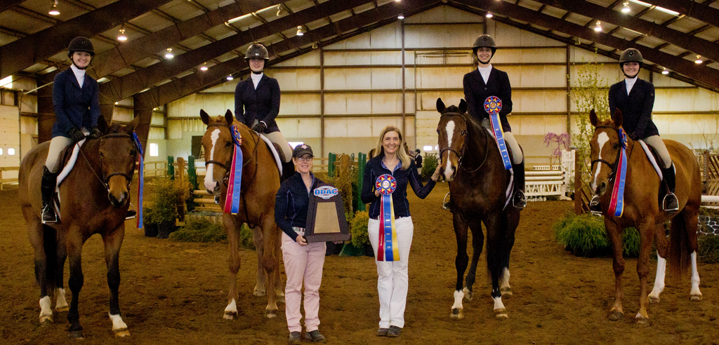 Sweet Briar's Win with Tad Coffin Saddles and Thera-Tree®