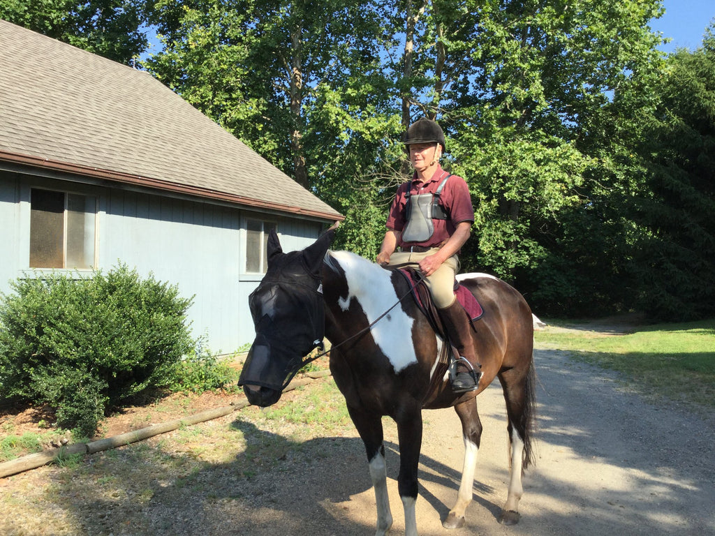Ken Chapman uses Thera-Tree® for more than his horse