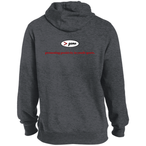 ST254 Sport-Tek Pullover Hoodie.  Click to view in light gray, dark gray, or black.